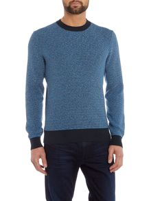 Hugo Boss Framo Slim Fit Chunky Tri Colour Knit
