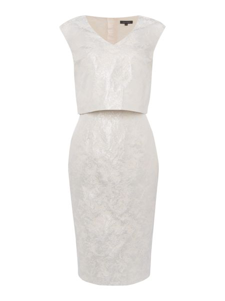 Pied a Terre Jacquard Dress