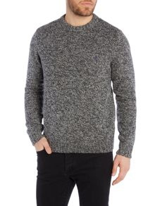 Original Penguin Richard Twisted Yarn Crew Neck Jumper
