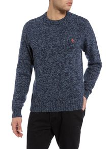 Richard Twisted Yarn Crew Neck Jumper