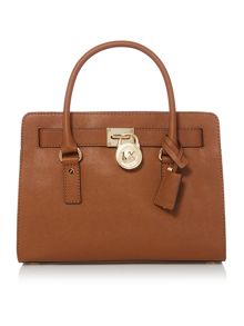 Michael Kors Hamilton tan bag