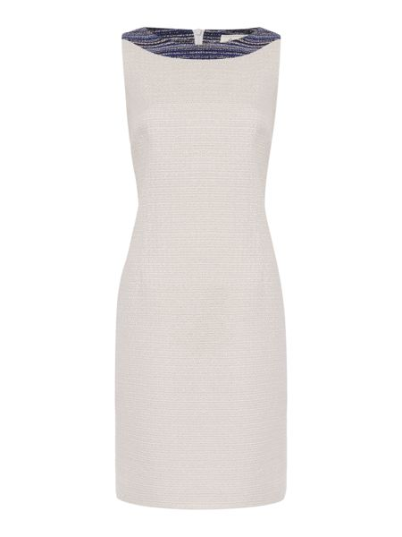 Linea Made in Britain Isla tweed shift dress