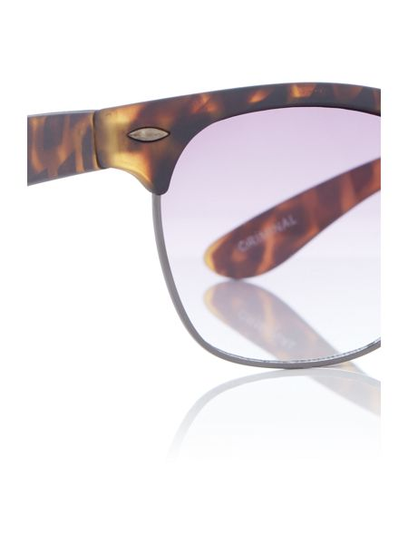 Criminal Clubmaster Sunglasses