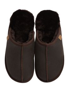 Just Sheepskin Seam front donmar sheepskin mule