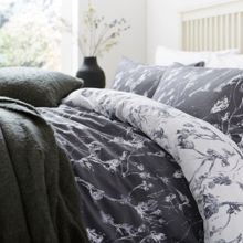 Linea Shadow leaf duvet cover set