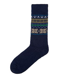 Alston fairisle socks