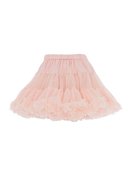 Angel's Face Girls Multi layered tutu skirt with big bow
