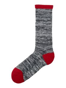 Kendal heel and toe marble sock