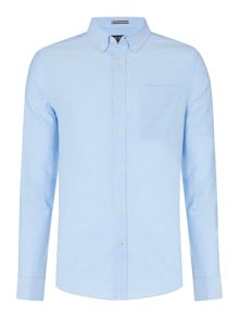 Howick Classic Plain Slim Fit Oxford Shirt