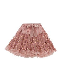 Angel's Face Girls Multi layered sparkly tutu with