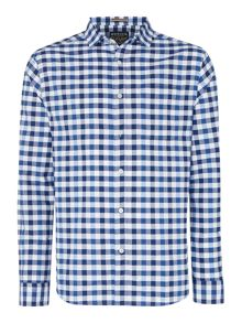 Howick Auburn Oxford regular fit gingham shirt