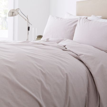 Linea Chambray Percale 200TC duvet set