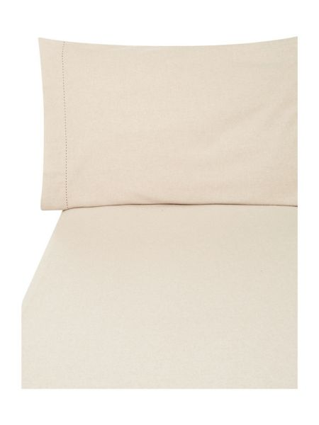 Linea Flannel flat sheet
