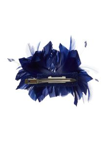 Lilly clip feather fascinator