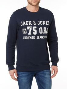 Jack & Jones East Coast Crew Neck Sweatshirt
