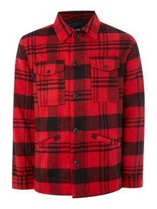 Only & Sons Wool Check Coat
