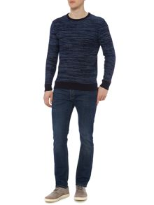 Criminal Lindell Twisted Yarn Crew Neck Jumper