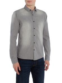 Only & Sons Long Sleeve Chambray Shirt