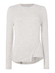 Gray & Willow Libby luxe sweat top