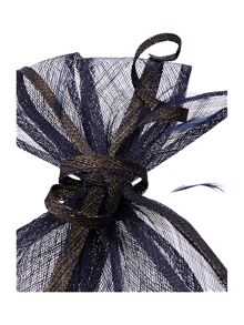 Luna Sinimay Fascinator