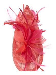 Linea Lexi tropical feather fascinator