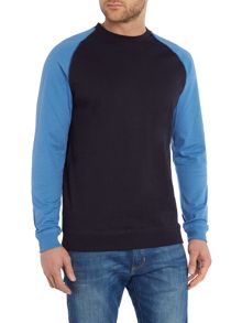 Only & Sons Contrast Raglan Sweatshirt