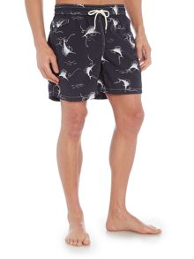 Polo Ralph Lauren Swordfish print swim shorts