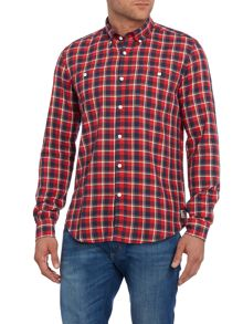 Barbour Steve Mcqueen Cabell Check Long Sleeve Shirt