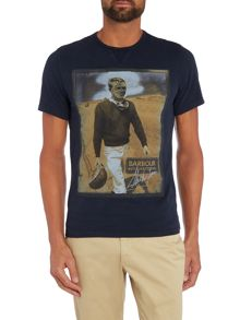 Steve Mcqueen Short Sleeved Longley T-Shirt