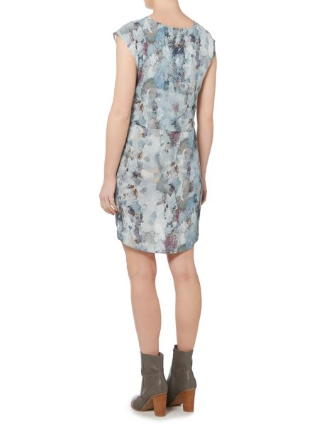 Gray & Willow Rockpool print double layer dress