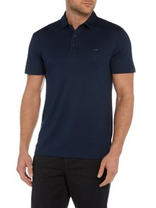 Slim fit sleek MK logo polo shirt