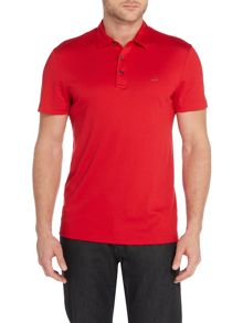 Michael Kors Slim fit sleek MK logo polo shirt