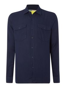Barbour Steve Mcqueen Montana Long Sleeved Shirt
