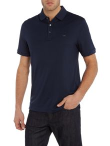 Michael Kors Regular fit pattern trim polo shirt