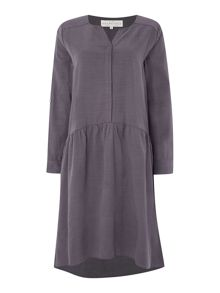 BRAINTREE Waisted long sleeve dress