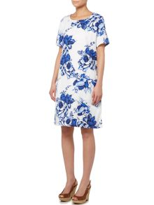 BRAINTREE Printed shift dress