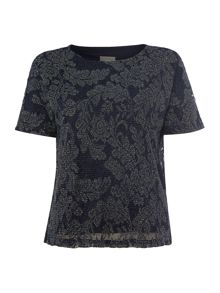 Vero Moda Short Sleeved Pattern Top