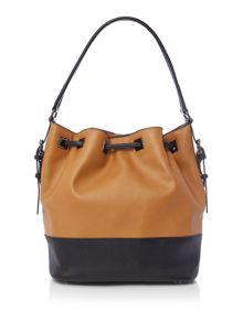 Kenneth Cole Madison drawstring bucket handbag
