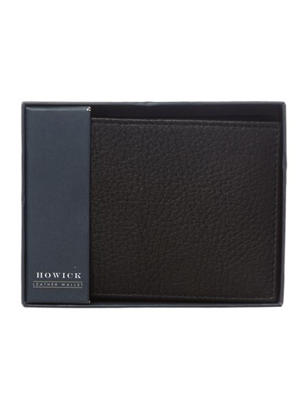 Howick Pebble Leather Wallet With Card Holder