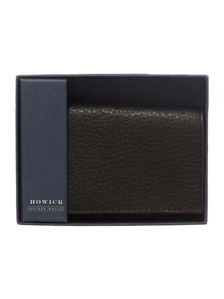 Howick Pebble Leather Tri Fold Wallet