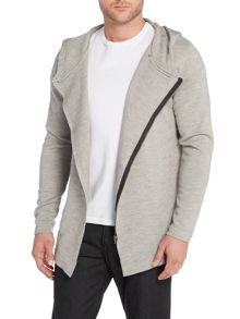 Jack & Jones Zip Through Hooded Knitted Jumper