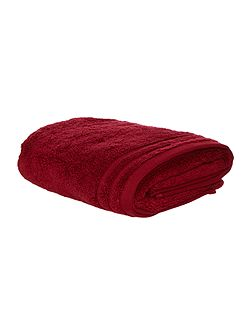 Zero Twist Hand Towel in Burgundy