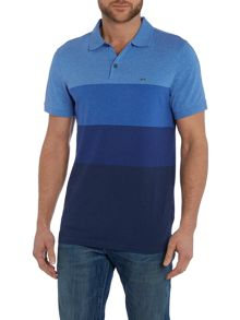 Michael Kors Regular fit block stripe polo shirt