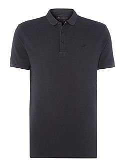 Teller Garment Dyed Pique Polo Shirt