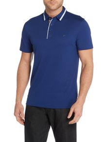 Michael Kors Regular fit tipped collar polo shirt
