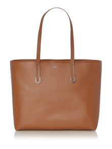 Hugo Boss Nadalia brown tote shoulder bag