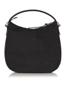 Hugo Boss Betha black hobo bag