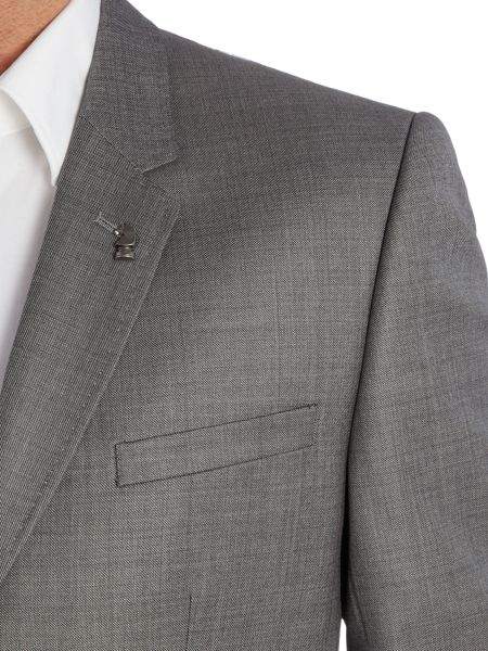 Ted Baker Modmar Slim Sharkskin Suit Jacket