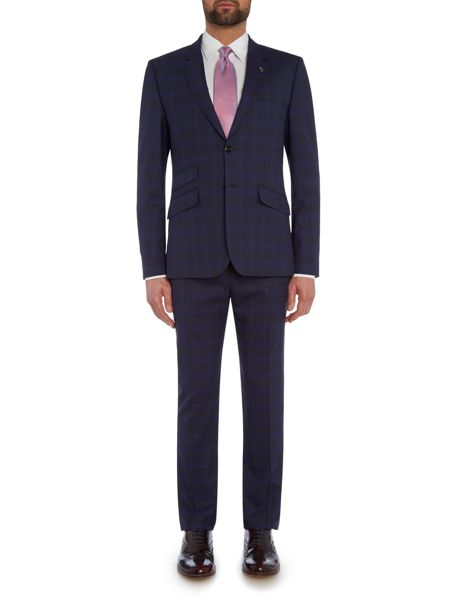 Ted Baker Restor Tonal Check Trousers