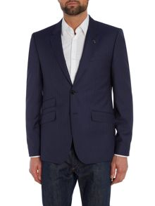 Carpes Slim Stripe Suit Jacket
